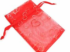 20xWedding Party Anniversary Celebration Love Hearts Bonbonniere Favour Gift Bag