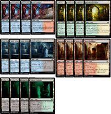 4x EACH (BACK GATE) Guildgate = 20 CARDS NM- MTG Guilds of Ravnica