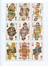 Hotel Müggelsee Skat 1987 Coeur DDR playing cards by Harry Scheuner