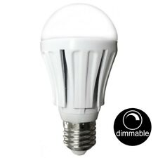 10 X Dimmable LED 12w Pearl Light Globes / Bulbs A60 GLS E27 Screw Warm White