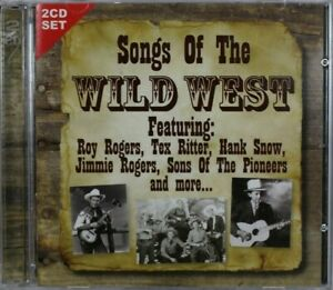 Songs Of The Wild West - Tex Ritter, Hank Snow - CD Sent Tracked (C846)