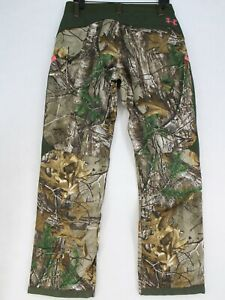 UNDER ARMOUR Women's Size 8 Scent Control Storm Camo Pants Hunting 30x30