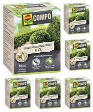 Oleanderhof® Sparset: 6 x COMPO Buchsbaumzünsler K.O., 50 ml + gratis Oleanderho
