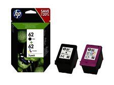 PACK ORIGINALE HP 62BK + HP 62C N9J71AE PER HP Officejet 5740e All in One, 8040