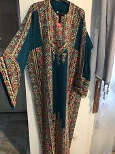 Traditional Thob ...Palestinian Jordanian Dress abaya tbob...modern thob dress