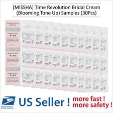 MISSHA Time Revolution Bridal Cream Blooming Tone Up Sample 30 pcs- US Seller -