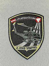 Ärmelabzeichen / ÖBH /Luftunterstützung 2.ITHS STAFFEL Verbandsabzeichen / Patch
