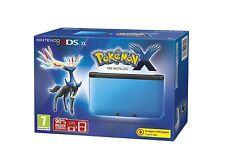 Nintendo 3DS - Konsole XL #blau Pokemon X Edition + Spiel + Stromkabel mit OVP