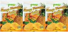 3 BAG Philippine Dried Mango Pineapple Balls 3.5 oz 100g Chewy Fruit Treat