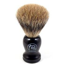 nts-solingen Brocha Afeitar Pelo Tejón Punta de plata Shaving Brush Badger