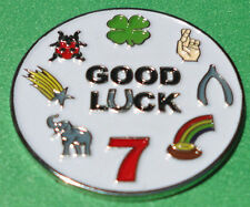 Good Luck Golf Ball Marker - Package of 2 - The Ultimate Good Luck Golf Charm