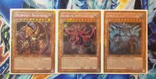 YU-GI-OH! dèi carte Obelisk SLIFER RA giocabile-de030/31/32 ORO Secret! Top MINT!