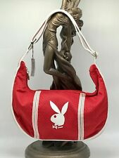 Women's Playboy Red Jersey Fashion Shoulder Bag