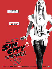 SIN CITY A DAME TO KILL FOR POSTER ROBERT RODRIGUEZ FRANK MILLER JUNO TEMPLE