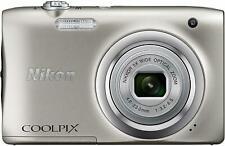 Nikon Digital Camera COOLPIX A100 Optical 5x 2005 million Pixel Silver A100SL