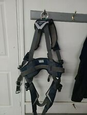 Used DBI SALA Exofit Positioning Safety harness LG Iron Worker Tower Read add