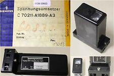 SIEMENS Spannungsumsetzer C70211-A1889-A3-Typ K190-003-Eingang 110 V