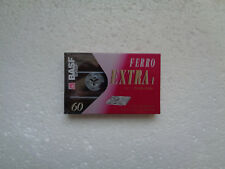 Vintage Audio Cassette BASF Ferro Extra 60 * Rare From Germany 1993 *