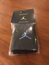 Nike Air Jordan Wristbands Wrsit Bands Sweat Terry Cloth New Black Blue