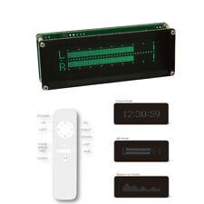 Musica SPECTRUM Audio Indicatore di livello sonoro Vu Meter a matrice di punti MINI VFD Orologio