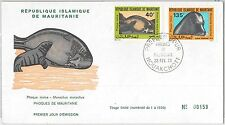 56644 - FAUNA Animals  SEALS -  MAURITANIA -  POSTAL HISTORY: FDC COVER 1973