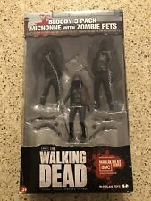 The Walking Dead, Bloody 3 Pack Michonne Pet Zombies. New