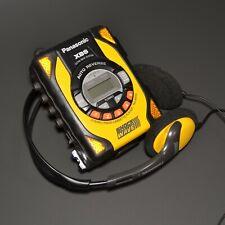Panasonic Shock Wave Radio Cassette Player Walkman RQ-SW30 w/ OG Headphones & FM