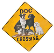 NEW Dog Crossing Pet Road Sign