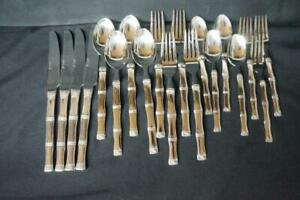 19 Pcs Cambridge Stainless CBS24, Knives, Spoons, Forks