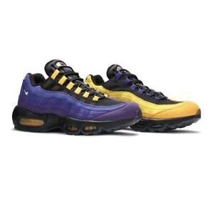 "Size 8 ~ Nike Air Max 95 NRG x Lebron James ""Lakers"" FREE 📦"