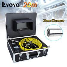 """Eyoyo 7"""" dello schermo ad alta definizione 20M 23mm fotocamera fogna tubo scarico Pipeline ispezione closed-circuit TELEVISION CAM"""