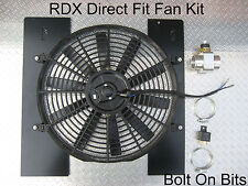 "RDX 14"" DIRECT FIT Plug&PLAY Electric Cooling Radiator Fan Kit Defender 300 Tdi"