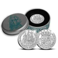 2021 Netherlands Ship Shilling 1 oz .999 Silver Proof Coin - 1,000 Made