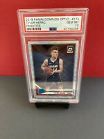 2019 Panini Donruss Optic Tyler Herro #172 Fanatics Rookie Card PSA 10 GEM MT💎