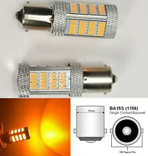 1156 2396 P21W 3497 7506 1141 BA15S 92 LED Amber Brake Light B1 JP USA Euro
