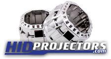 Square Mini Gatling Gun Shrouds Projector Retrofit x2 Chrome