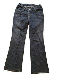 Vintage Jeans, 1990s, Y2K, Black, Bootcut, Low Rise, W30 L30