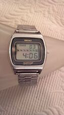 RARE Men's Vintage Seiko Quartz LC Digital 1970's 0139-5029 Watch