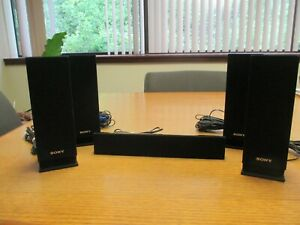 SONY 5.1 Surround Sound Speakers – SS-TSB101 and SCTB101