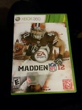 Madden NFL 12 Xbox 360 Very Good Condition. Online Pass No Manual