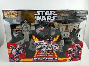 Hasbro Star Wars Transformers: Millennium Falcon Action Figure New In Box