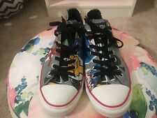 Mens Limited Edition Rare Gorillaz Converse Vintage All Star Size 11 1/2 11.5