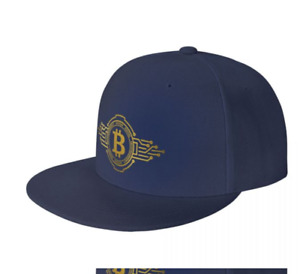 Bitcoin Logo Hat Cryptocurrency Trading Hat For Men