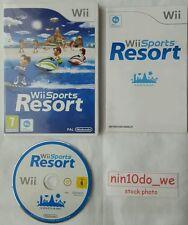 [Wii] SPORTS RESORT =12 Games= Jet Ski + Bowling +Cycling +Archery +Wakeboarding