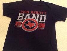 Josh Abbott Band You Ain't Met My Texas Yet T-Shirt - Large Black Tee