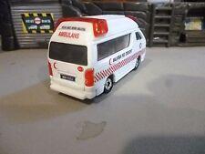 Malaysia Red Crescent Ambulance   64 Scale Custom