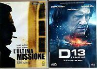 SERATA THRILLER - L'ULTIMA MISSIONE + DIAMOND 13 - 2 DVD EX NOLEGGIO