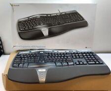 Microsoft - Natural Ergonomic Keyboard 4000 B2M-00012 Wired USB Keyboard