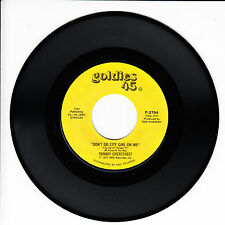 TOMMY OVERSTREET Don't Go City Girl On Me VG++ 45 RPM REISSUE
