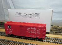 "LIFE-LIKE HO Scale ""AT& SF"" AAR 40' Steel Box Car ""Santa Fe"" with KD's"